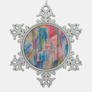 """Creative Utopia"" Snowflake Ornament"