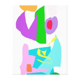 Creative Water Tap Yellow Snake Wayside Canvas Print