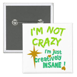 Creatively Insane button
