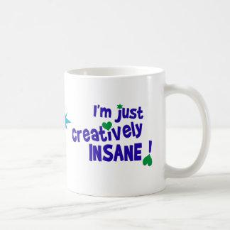 Creatively Insane mug