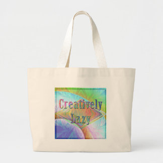 creatively lazy tote bags