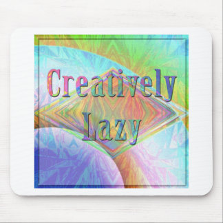 creatively lazy mouse pads