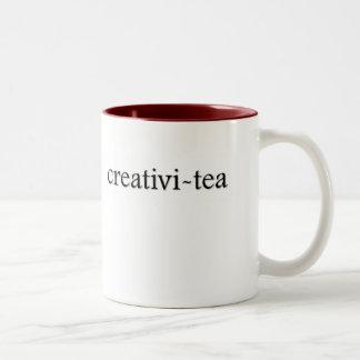 Creativi-tea Tea Cup Two-Tone Mug