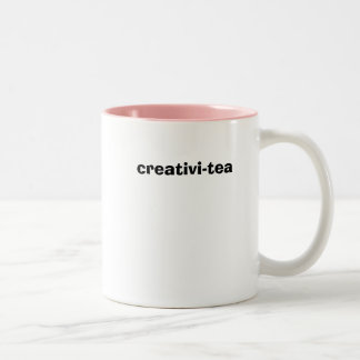 creativi-tea Two-Tone coffee mug