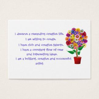 Creativity Affirmation Card - Daily Mantra