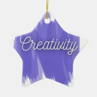 Creativity Christmas Ornament