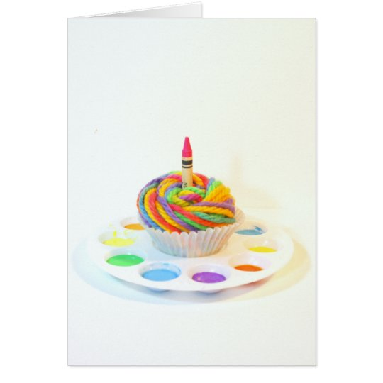Creativity Cupcake  Photography Birthday Card