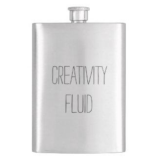 Creativity Fluid Fun Classic Stainless Steel Flask