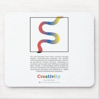 Creativity golden awareness mouse pad