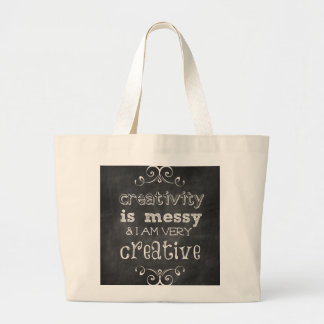 Creativity is Messy Tote Bag
