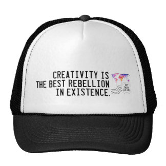 Creativity is Rebellious Trucker Hat