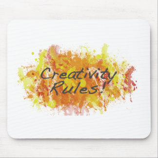 Creativity Rules! Mouse Mat