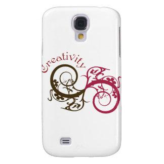 Creativity Swirl Design Galaxy S4 Case