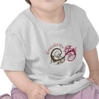Creativity Swirl Design Shirts
