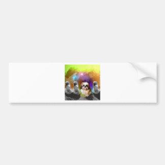 creativiys enemy.jpg bumper sticker