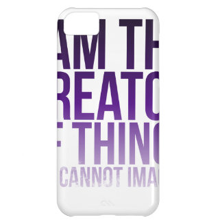Creator of Unimaginable Things iPhone 5C Cover