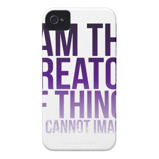 Creator of Unimaginable Things Case-Mate iPhone 4 Case