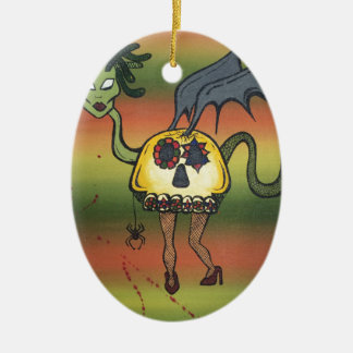 Creature of the Night Christmas Tree Ornaments