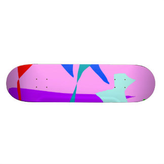 Creatures Adored by Every God Send Messages Skateboards