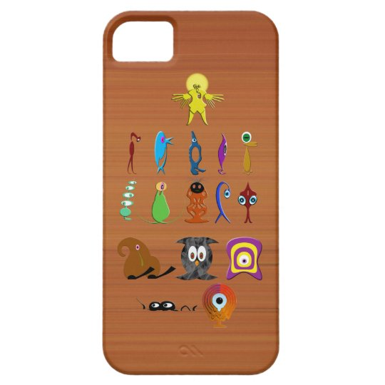 Creatures iPhone 5 Cases