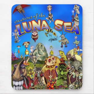 Creatures of the Luna Sea Mouse Mat