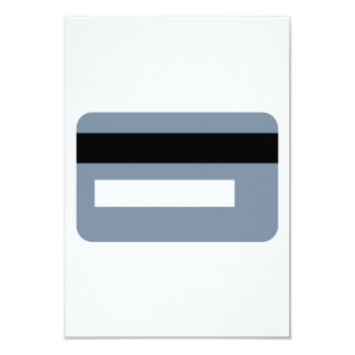 Credit card 9 cm x 13 cm invitation card