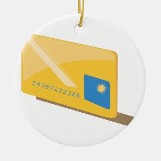 Credit Card Christmas Ornament