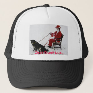 Credit Crunch Santa Trucker Hat