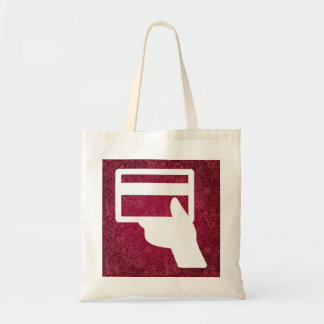 Credit Holders Graphic Budget Tote Bag