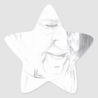 Credle's Pope Francis Products Star Sticker