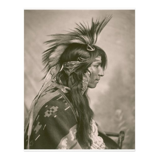 Cree Indian Full Color Flyer