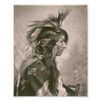 Cree Indian Photographic Print