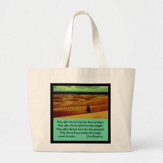 Cree Prophecy Jumbo Tote Bag