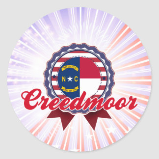 Creedmoor, NC Round Stickers