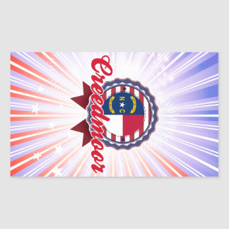 Creedmoor, NC Rectangular Sticker