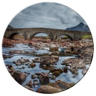 Creek bridge plate