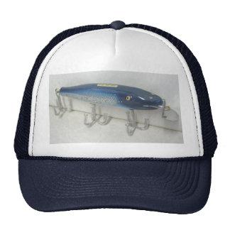 Creek Chub Pikie Blue Flash Vintage Lure Hat
