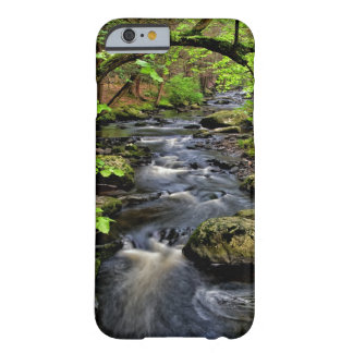 Creek flows through forest barely there iPhone 6 case