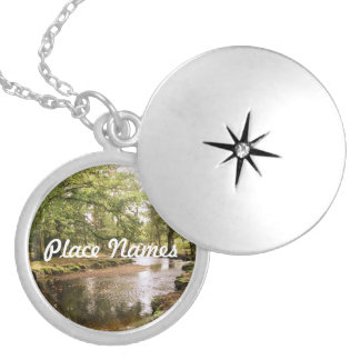 Creek in New Forest Pendant