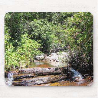 Creek in Venezuela Jungle Landscape Mouse Pad
