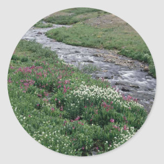 Creek on the go round sticker