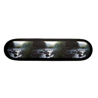 Creek Photo Template Skateboard