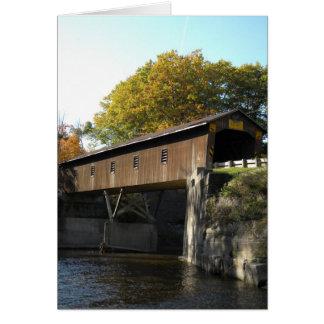 Creek Rd Bridge Ashtabula County Ohio Card
