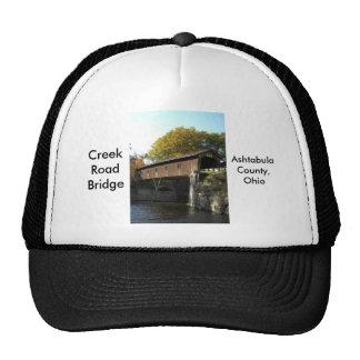 Creek Rd Bridge Ashtabula County Ohio Hats