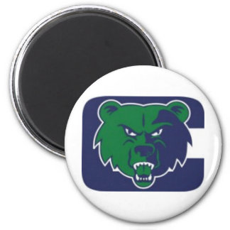 Creekview Grizzlies Youth Football Association 6 Cm Round Magnet