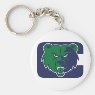 Creekview Grizzlies Youth Football Association Basic Round Button Key Ring
