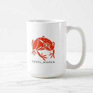 Creel Works Logo 1 copy Basic White Mug