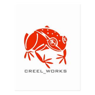 Creel Works Logo 1 copy Postcard