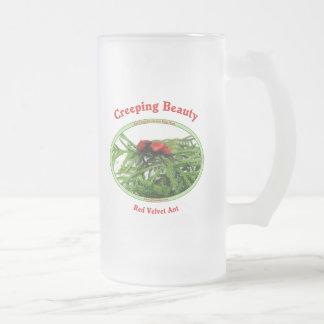 Creeping Beauty Red Velvet Ant Bug Mugs