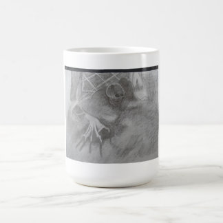 creeping ghoul basic white mug